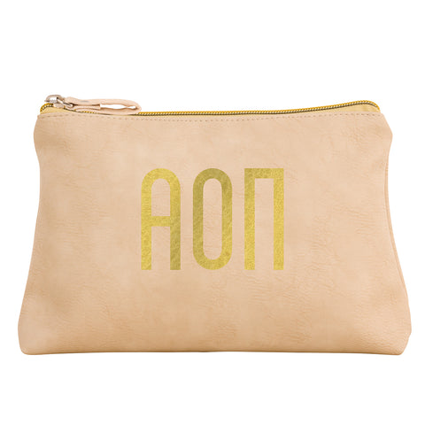 Cosmetic Bag  Alpha Omicron Pi