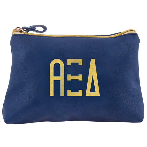 Cosmetic Bag  Alpha Xi Delta - Alexandra and Company