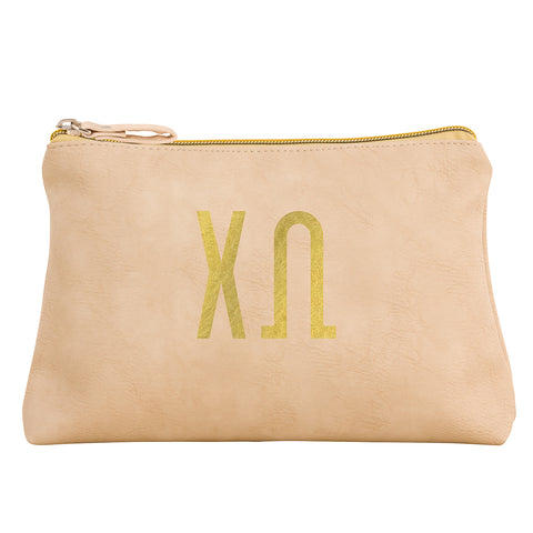Cosmetic Bag  Chi Omega - Alexandra and Company