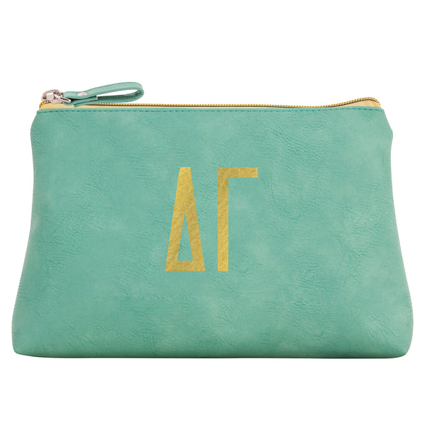 Cosmetic Bag  Delta Gamma - Alexandra and Company
