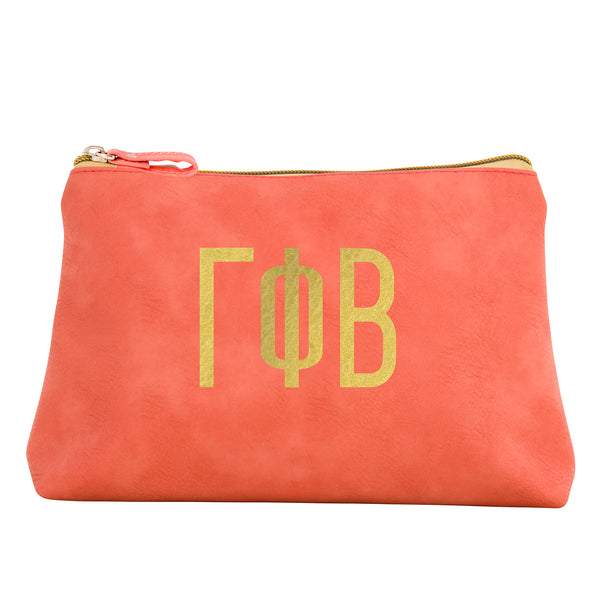 Cosmetic Bag  Gamma Phi Beta - Alexandra and Company