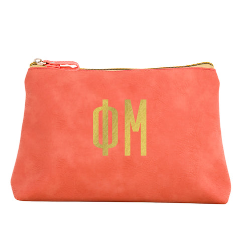Cosmetic Bag  Phi Mu - Alexandra and Company
