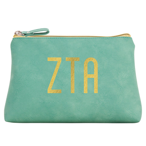 Cosmetic Bag  Zeta Tau Alpha - Alexandra and Company