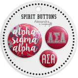 Buttons  Alpha Sigma Alpha - Alexandra and Company