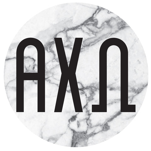Round Bumper Sticker  Alpha Chi Omega - Alexandra and Company