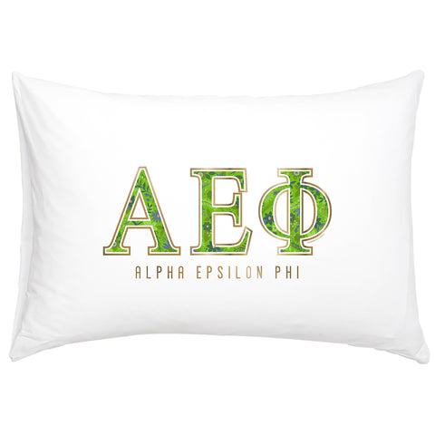 Cotton Pillow Case  Alpha Epsilon Phi - Alexandra and Company