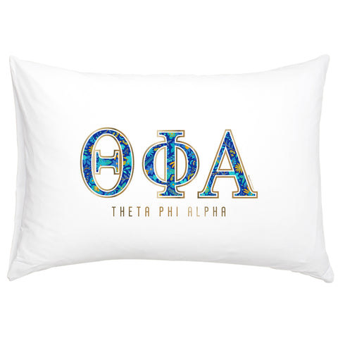 Cotton Pillow Case  Theta Phi Alpha - Alexandra and Company