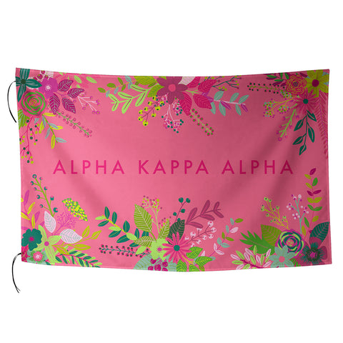 Sublimated Flag  Alpha Kappa Alpha - Alexandra and Company
