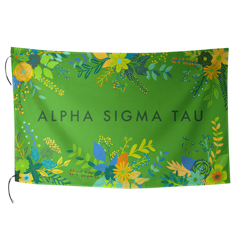 Sublimated Flag  Alpha Sigma Tau - Alexandra and Company