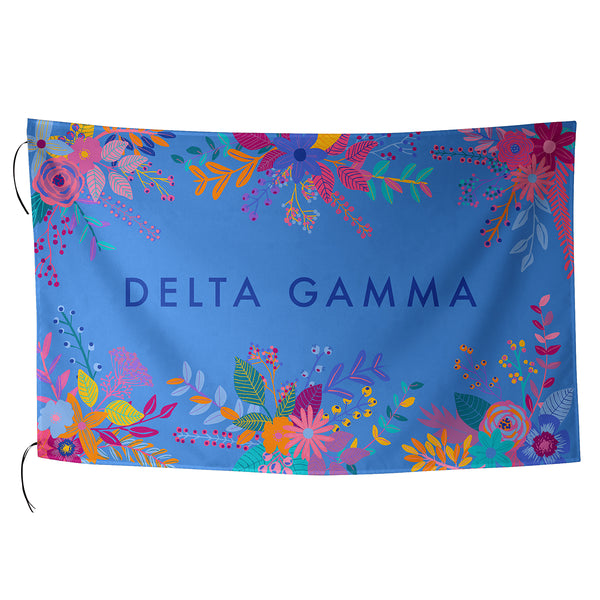 Sublimated Flag  Delta Gamma - Alexandra and Company