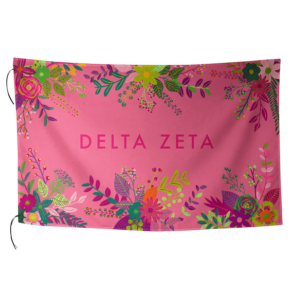 Sublimated Flag  Delta Zeta - Alexandra and Company