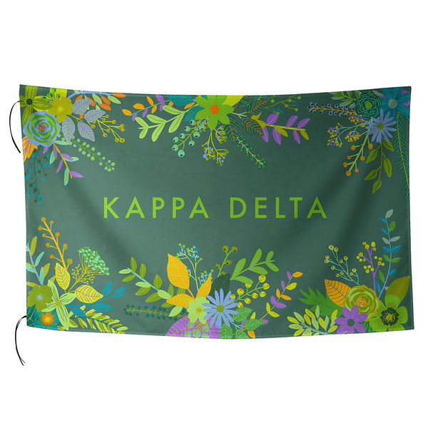 Sublimated Flag  Kappa Delta - Alexandra and Company