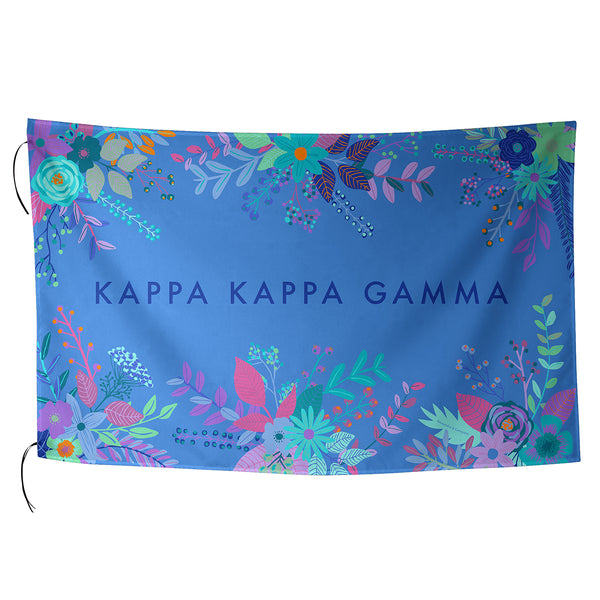 Sublimated Flag  Kappa Kappa Gamma - Alexandra and Company