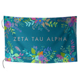 Sublimated Flag  Zeta Tau Alpha - Alexandra and Company