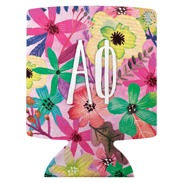 Flower Can Cooler  Alpha Phi (F18)