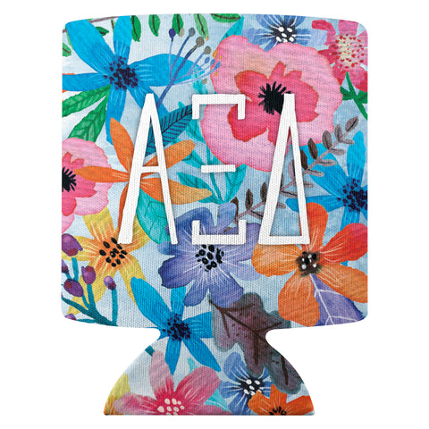 Flower Can Cooler  Alpha Xi Delta (F18)