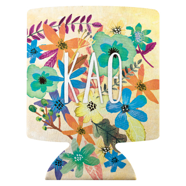 Flower Can Cooler  Kappa Alpha Theta (F18)