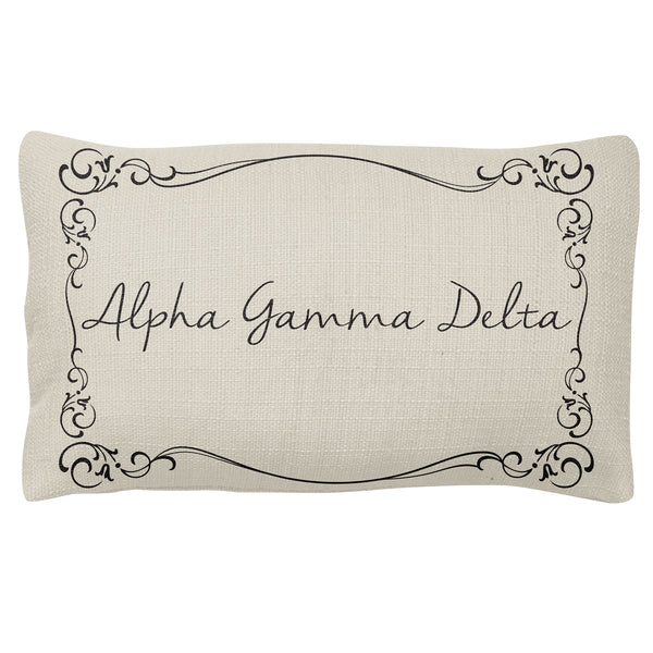 Lumbar Pillow Alpha Gamma Delta(F18)