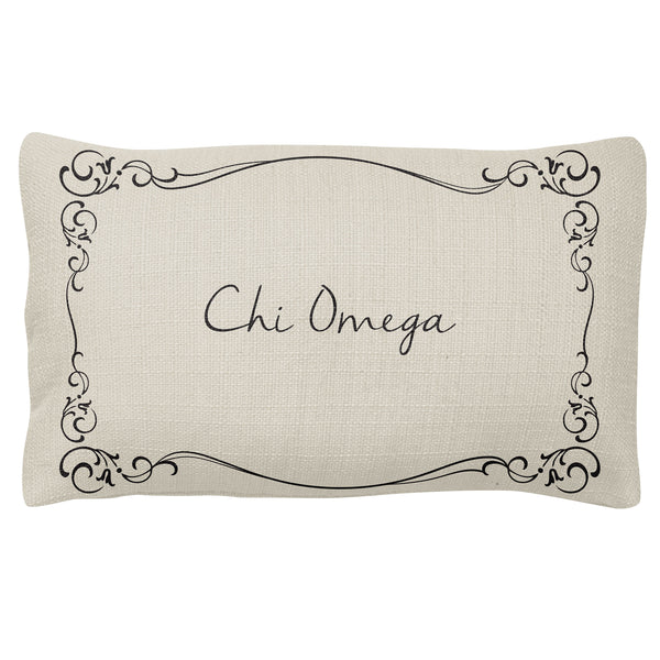 Lumbar Pillow  Chi Omega(F18)