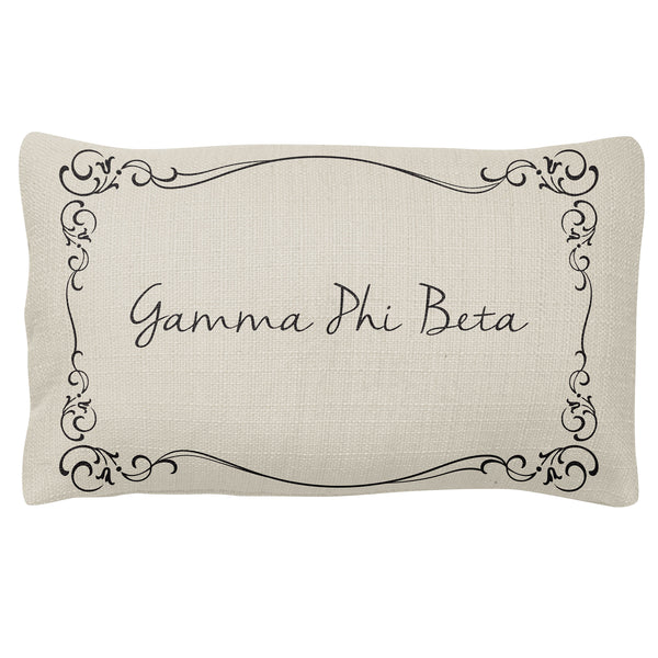 Lumbar Pillow  Gamma Phi Beta(F18)