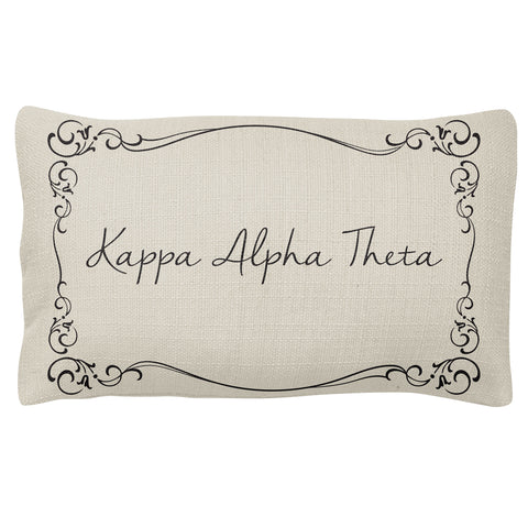 Lumbar Pillow  Kappa Alpha Theta (F18)