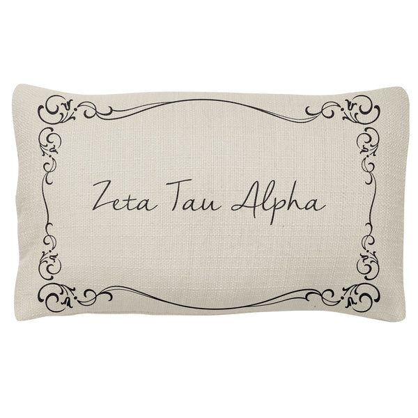 Lumbar Pillow  Zeta Tau Alpha (F18)