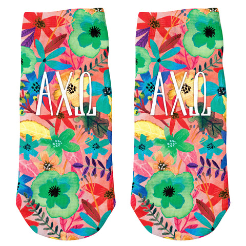 Ankle Socks  Alpha Chi Omega (F18)