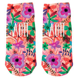 Ankle Socks  Alpha Omicron Pi  (F18)
