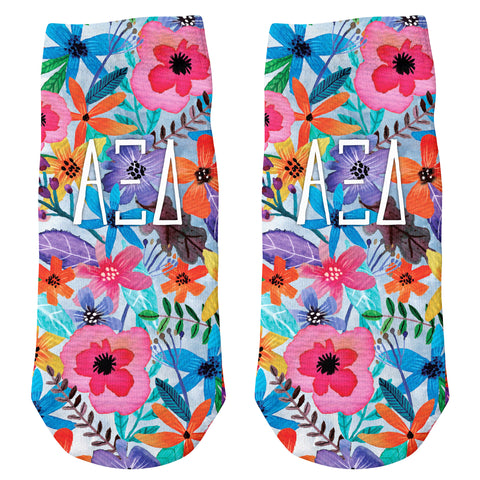 Ankle Socks Alpha Xi Delta (F18)
