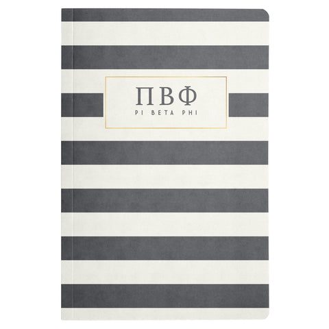NOTEBOOK STRIPED PI BETA PHI (F19)