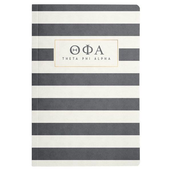 NOTEBOOK STRIPED THETA PHI ALPHA (F19)