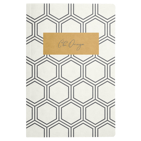 NOTEBOOK HONEYCOMB CHI OMEGA (F19)