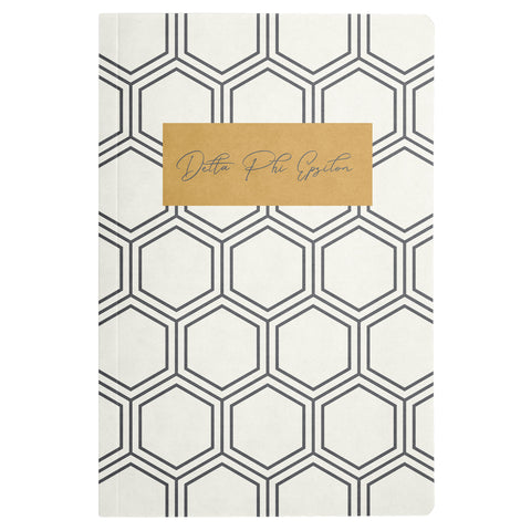 NOTEBOOK HONEYCOMB DELTA PHI EPSILON (F19)