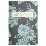 NOTEBOOK BLUE FLORAL ALPHA EPSILON PHI (F19)