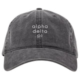 DARK GRAY CAP ALPHA DELTA PI (F19)