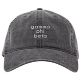 DARK GRAY CAP GAMMA PHI BETA (F19)