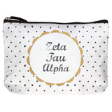 COTTON MAKEUP BAG ZETA TAU ALPHA (F19)