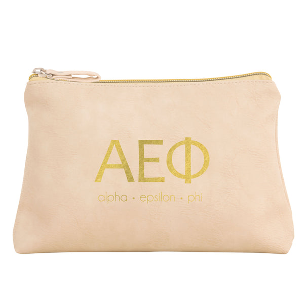 COSMETIC BAG ALPHA EPSILON PHI (F19)