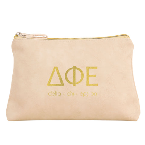 COSMETIC BAG DELTA PHI EPSILON (F19)
