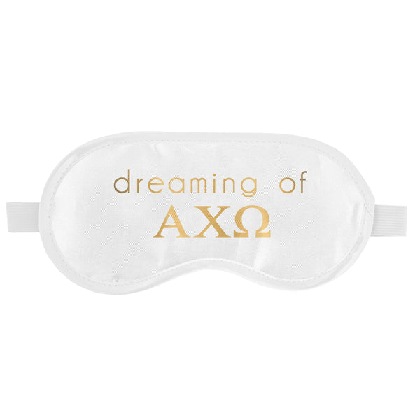 SLEEP MASK ALPHA CHI OMEGA (F19)