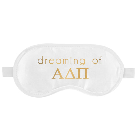 SLEEP MASK ALPHA DELTA PI (F19)