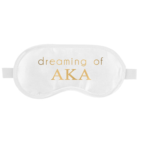 SLEEP MASK ALPHA KAPPA ALPHA (F19)