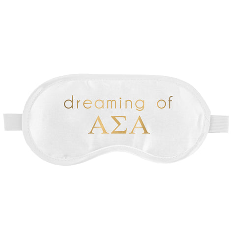 SLEEP MASK ALPHA SIGMA ALPHA (F19)