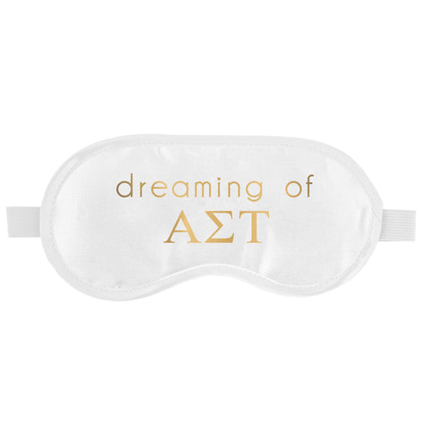 SLEEP MASK ALPHA SIGMA TAU (F19)