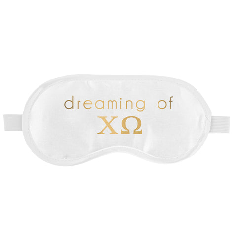 SLEEP MASK CHI OMEGA (F19)
