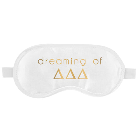 SLEEP MASK DELTA DELTA DELTA (F19)