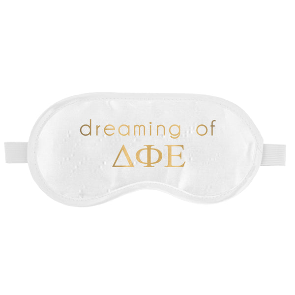 SLEEP MASK DELTA PHI EPSILON (F19)