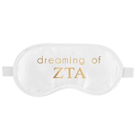 SLEEP MASK ZETA TAU ALPHA (F19)