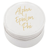 ROUND TRAVEL CASE ALPHA EPSILON PHI (F19)