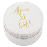 ROUND TRAVEL CASE ALPHA XI DELTA (F19)